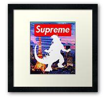 king of the monsters [2000 variant] Framed Print