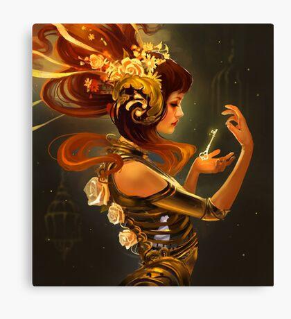 Key to Inner Self Canvas Print