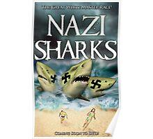 Nazi Sharks Poster