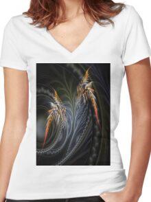 Firefly Women's Fitted V-Neck T-Shirt