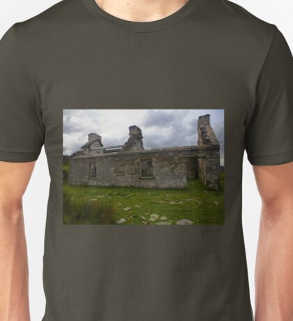 Ruined Cottage at Cashelnagor, County Donegal, Ireland Unisex T-Shirt