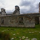 Ruined Cottage at Cashelnagor, County Donegal, Ireland by George Row