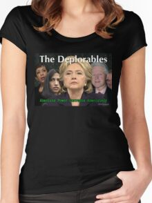 The Deplorables Women's Fitted Scoop T-Shirt