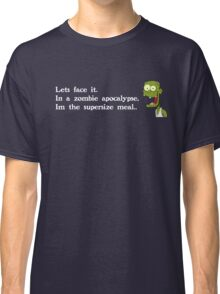 Zombie Apocalypse (White Text) Classic T-Shirt
