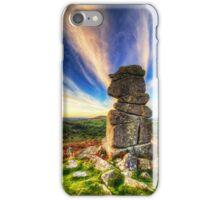 Bowermans nose on Dartmoor near Manaton iPhone Case/Skin