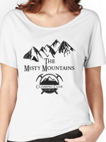 Misty Mountains Climbing Club, LOTR Parody  Women's Relaxed Fit T-Shirt