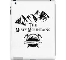 Misty Mountains Climbing Club, LOTR Parody  iPad Case/Skin