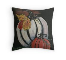 The Great White Pumpkin Throw Pillow