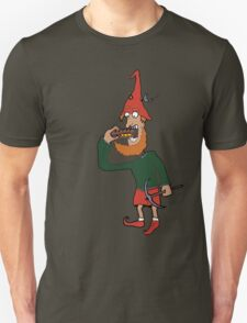 Gnome eating his lunch Unisex T-Shirt
