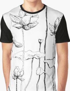 Towering Lotus  Graphic T-Shirt