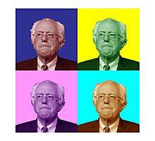 Bernie Sanders Popart Photographic Print