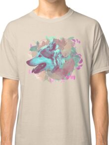 Wolf and leaves Classic T-Shirt