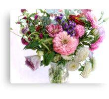 Septemer Bouquet Canvas Print