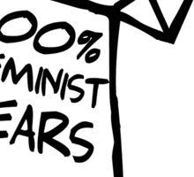 Pure Feminist Tears Sticker