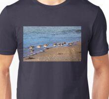 Beachcombers 2 – Sandpipers on the Beach  Unisex T-Shirt