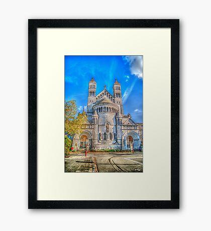 Saint-Michel Church Framed Print