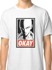 one_man_punch_okay_face Classic T-Shirt