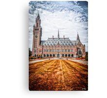 Peace Palace Canvas Print