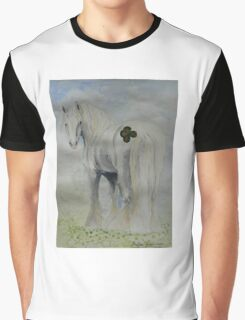 Four Leaf Clover Cob Graphic T-Shirt