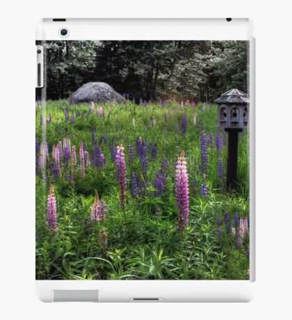 Birdhouse in the Lupine iPad Case/Skin