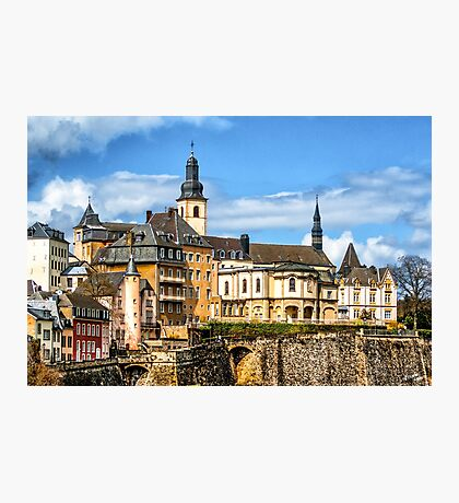 Luxembourg Heights Photographic Print