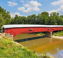 West Union Covered Bridge by Kenneth Keifer