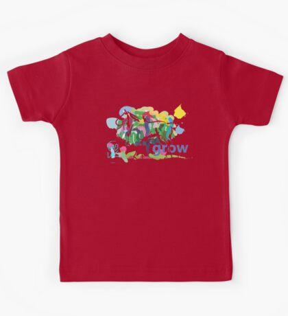 cute t-shirt affirmation grow Kids Tee