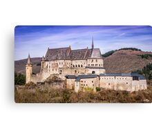 Vianden Castle Canvas Print