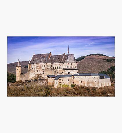Vianden Castle Photographic Print