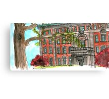Mathematics Building, Columbia University Canvas Print