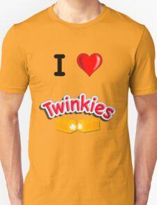 I Love Twinkies Unisex T-Shirt
