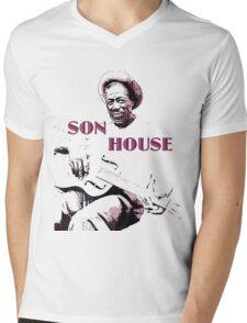 Son House - Blues Legend Mens V-Neck T-Shirt