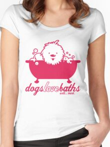 Dog Grooming Women's Fitted Scoop T-Shirt