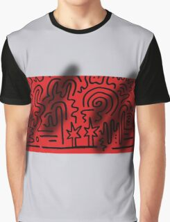 Clean Stripe (Spray) Graphic T-Shirt