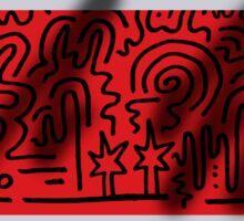 Clean Stripe (Spray) Sticker