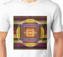 Concentric Geometry Unisex T-Shirt