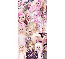 COLLAGE - Trixie Mattel + Katya Zamolodchikova Photographic Print