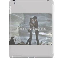 Don't forget about me. iPad Case/Skin