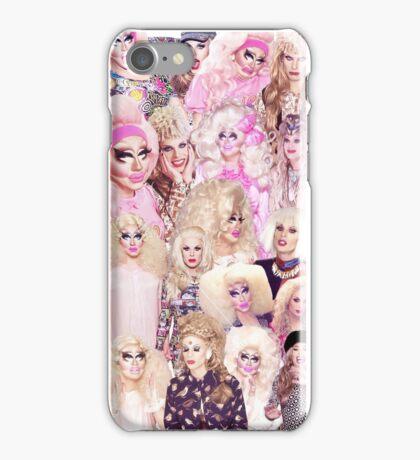 COLLAGE - Trixie Mattel + Katya Zamolodchikova iPhone Case/Skin