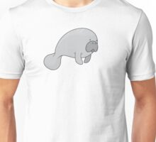 Manatee & Motorboat Unisex T-Shirt