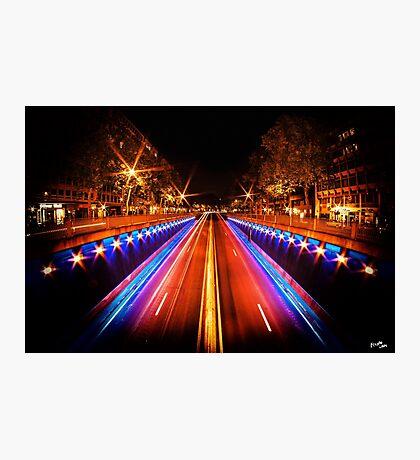 Boulevard du Régent Photographic Print
