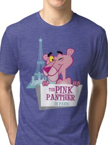 You´re Welcome to Paris (THE PINK PANTHER) Tri-blend T-Shirt