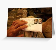 Unopened Letter Greeting Card