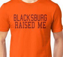 Blacksburg Virginia Raised Me by AiReal Apparel Unisex T-Shirt