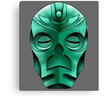 traditional dragon priest mask Canvas Print