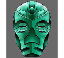 traditional dragon priest mask Photographic Print