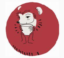 Tea Time for Hedgehog One Piece - Short Sleeve