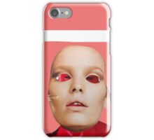 Face. Red - Pink - Black Collection. Collage ® iPhone Case/Skin