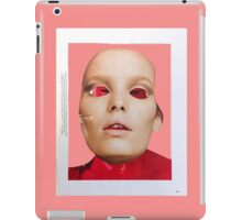Face. Red - Pink - Black Collection. Collage ® iPad Case/Skin