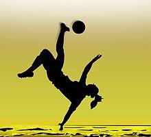 Soccer Girl by papabuju